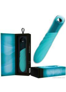 Exkluzív és elegáns szilikon vibrátor, Key Vela modern vibri