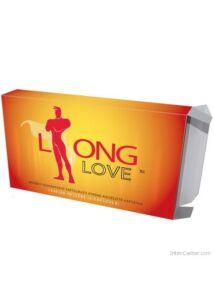Long Love potenciaszabályozó kapszula, korai magömlésre 4 db