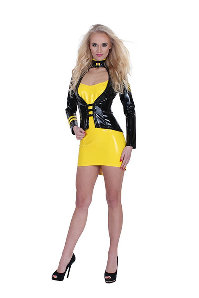 Gp datex sergeant costume yellow/black m