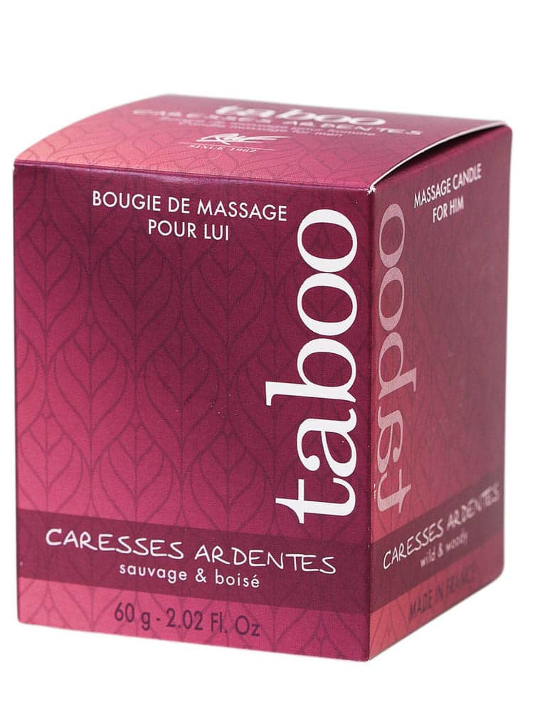 Candle massage men - caresses ardentes (fern)