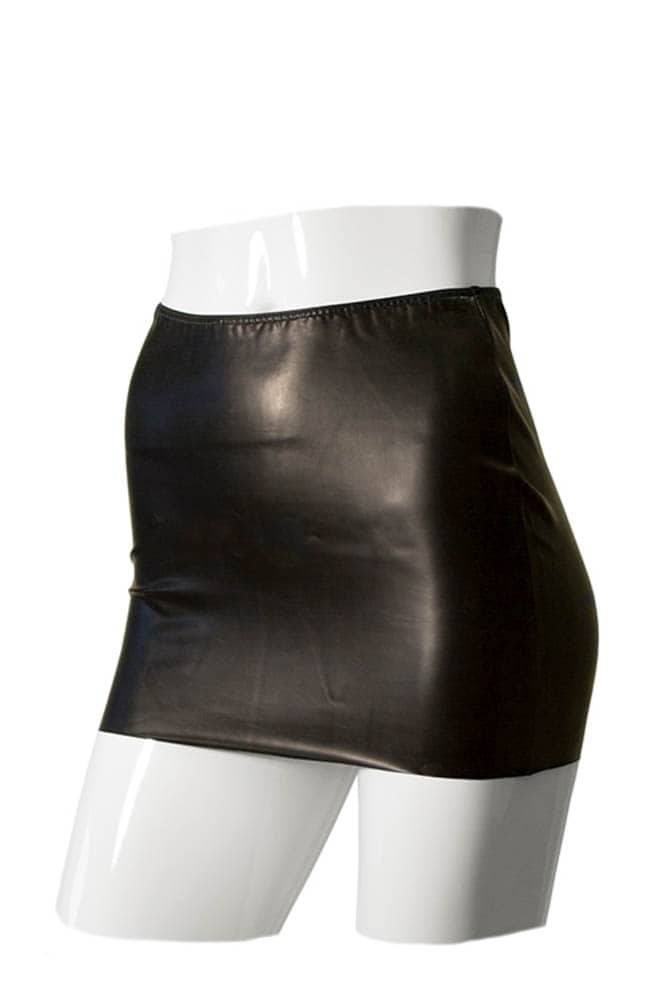 Gp datex mini skirt with cut-ooz rear m