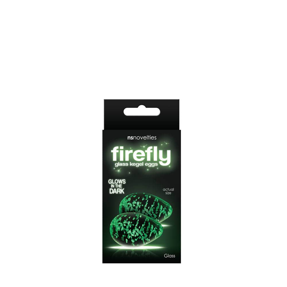 Firefly glass - kegel eggs kegel golyó