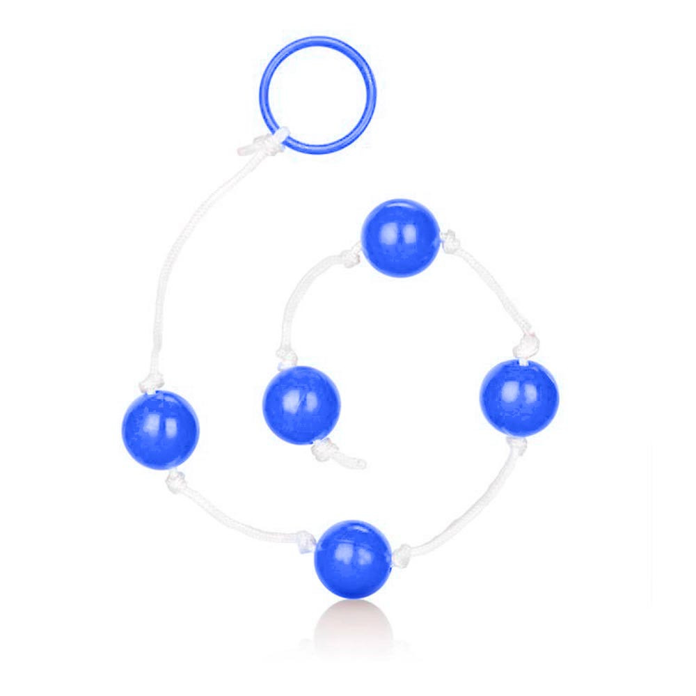 Anal balls clear blue large