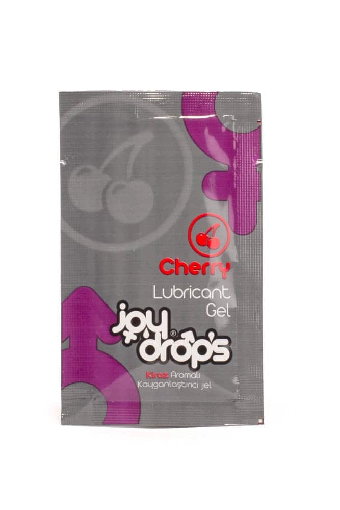 Cherry lubricant gel - 5ml sachet