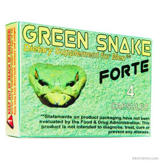 Green Snake Forte potencianövelő kapszula 4 db