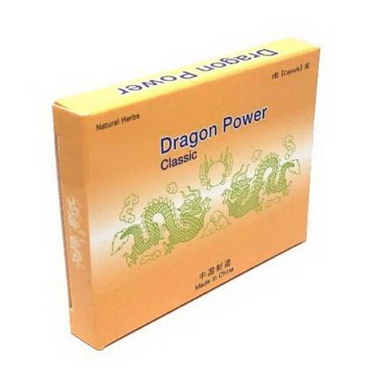 Dragon Power classic 3 db potencianövelő kapszula az eredeti