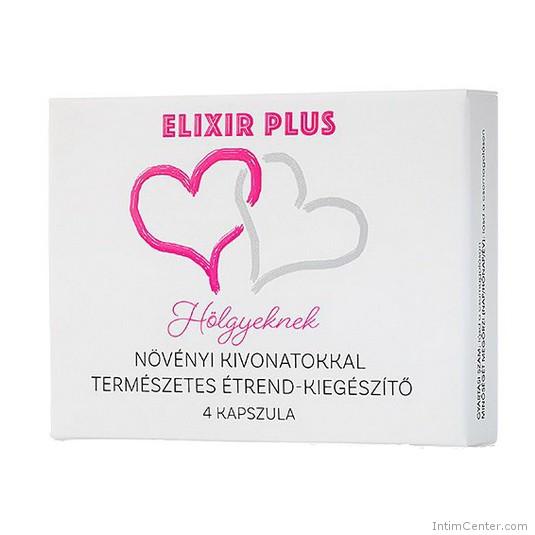 Elixir Plus vágyfokozó nőknek 4 kapszula