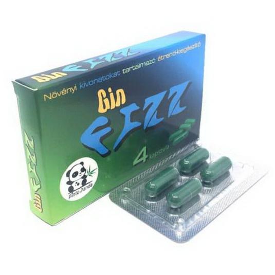 Gin Fizz potencianövelő kapszula 4 db