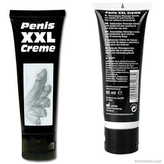 Pénisz XXL erekció és pénisznövelő krém