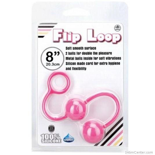 Szerelemgolyók, anális és hüvelyi használatra Flip Loop gésagolyó