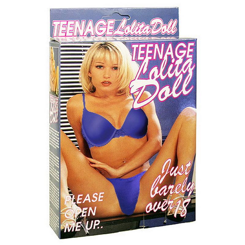 Szexbaba Teenage Lolita Doll szőke guminő