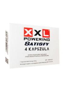 XXL Powering Satisfy potencianövelő kapszula férfiaknak 4 db