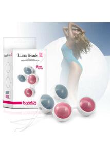 Lovetoy luna beads ii. gésagolyó szett (rózsaszín)