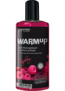Warmup melegítő masszázsolaj - málna - 150 ml