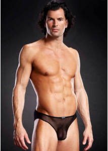 Pro-mesh bikini brief black s/m