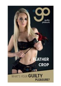 Gp feather crop black red