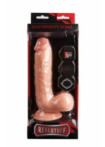 Realstuff duo density dildó 8 inch