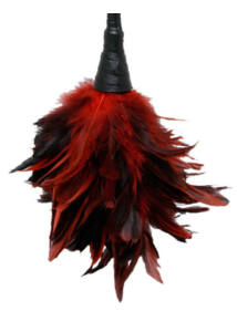 Fetish fantasy series frisky feather dusted red
