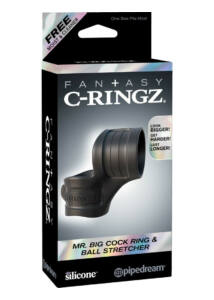 Fantasy c-ringz mr. big cock ring and ball stretcher