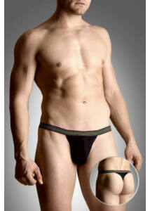 Mens thongs 4496 - black m/l