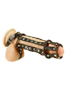 Penis harness with spikes péniszköpeny