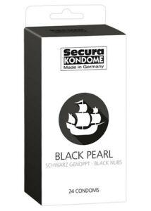 Secura black pearl - gyöngyös fekete óvszerek 24 db/csomag 200ft,-/db. a feltüntetett ár egy darab óvszerre vonatkozik!