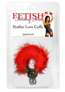 Fetish fantasy series  feather love cuffs