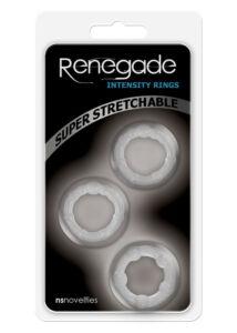 Renegade 3 db-os péniszgyűrű szett - áttetsző