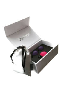 Joyballs secret set 1er magenta 2er violett