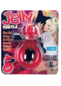 Jelly turtle vibro péniszgyűrű