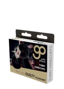 Gp furry handcuffs black