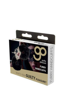 Gp furry handcuffs black
