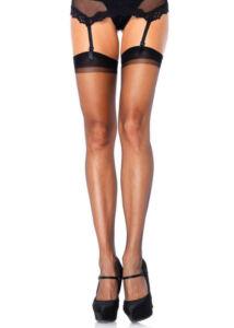 Sheer stockings - black - o/s - hosiery