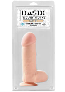 Basix rubber works big 7 with suction cup