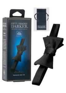 A sötét ötven árnyalata - his rules csokornyakkendő