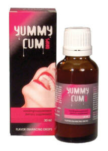 Yummy cum drops. spermaízesítő cseppek 30 ml