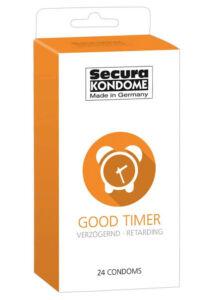 Secura good timer - ejakuláció késleltető óvszerek 24 db/csomag 200ft,-/db. a feltüntetett ár egy darab óvszerre vonatkozik!