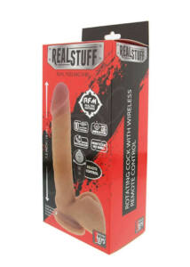 Realstuff 7.5inch rotating remote távirányításos vibrátor