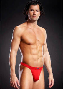 Performance microf. thong red s/m