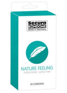 Secura nature feeling - extra vékony óvszerek (24 db)