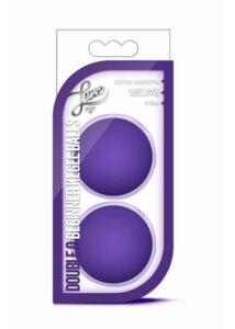 Luxe double o kegelballs purple
