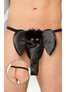 Thong 4416    black/ sl
