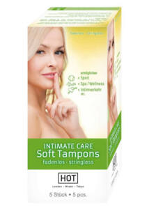 Hot intimate care sof tampons green (5 db)