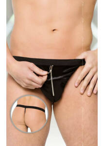 Thong 4415    black/ sl