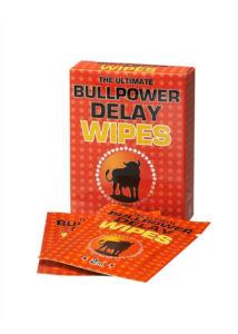 Késleltetőkrémes törlőkendő 6 db Bull Power