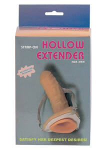 Hollow felcsatolható péniszköpeny