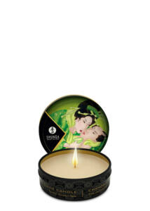 Shunga testgyertya - zöld tea - 30 ml