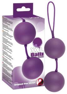 Xxl balls - óriás gésagolyók (lila) 5 cm