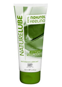 Nature lube aloe vera vízbázisú síkosító - 100 ml