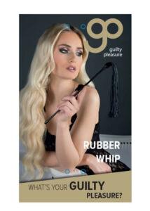 Gp rubber whip black